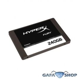 SSD Kingston HyperX Fury 2.5´ 240GB SATA III 6.0Gb/s