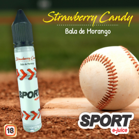 Juice Strawberry Candy (Bala de Morango)