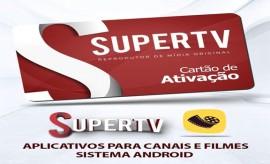 Cartão de Ativação SuperTv + Cinema – 01 ANO