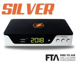 Azamerica Silver 4K / Wi-Fi / IKS-SKS-IPTV / ACM