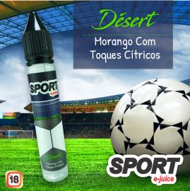 Juice Désert (Morango com Toques Cítricos)
